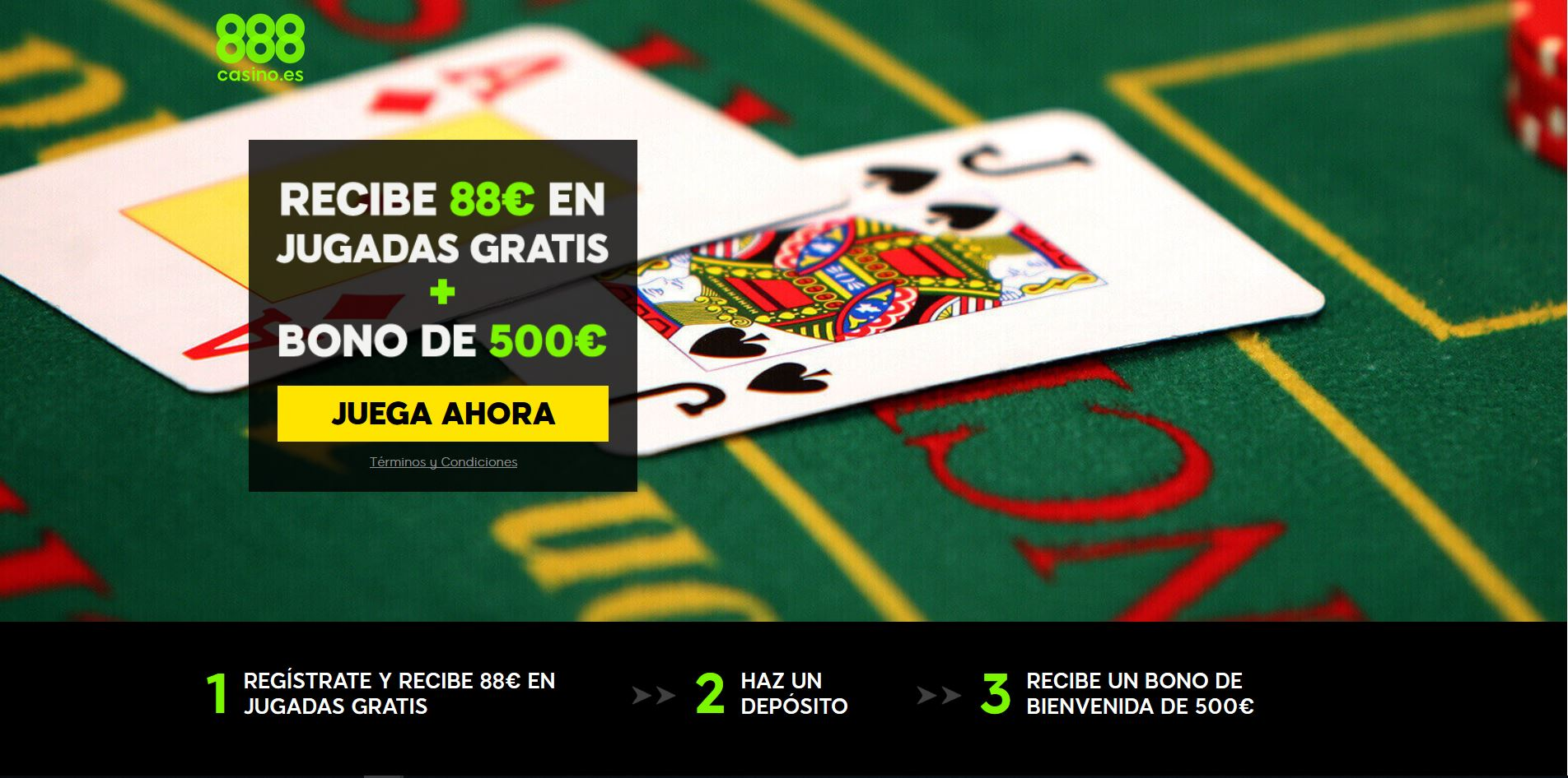Blackjack 888 Casino