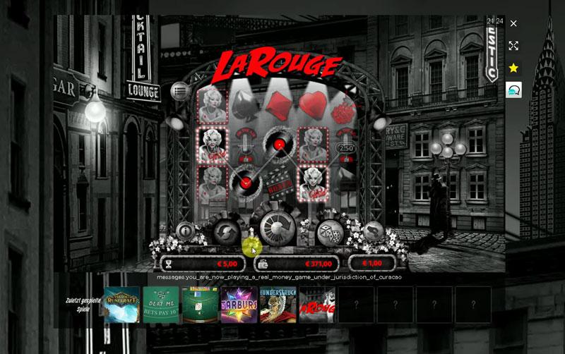 Casino en ligne La Rouge