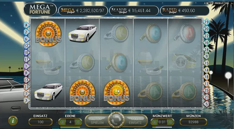 Casino en ligne Mega Fortuna Jackpot