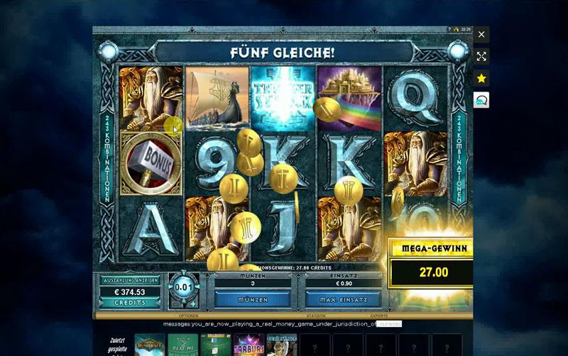Слот онлайн казино Thunderstruck 2
