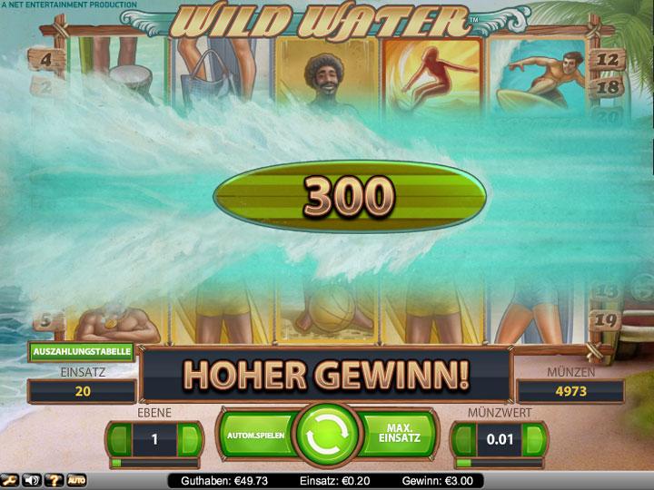 Casino en línea Slot Wild Water