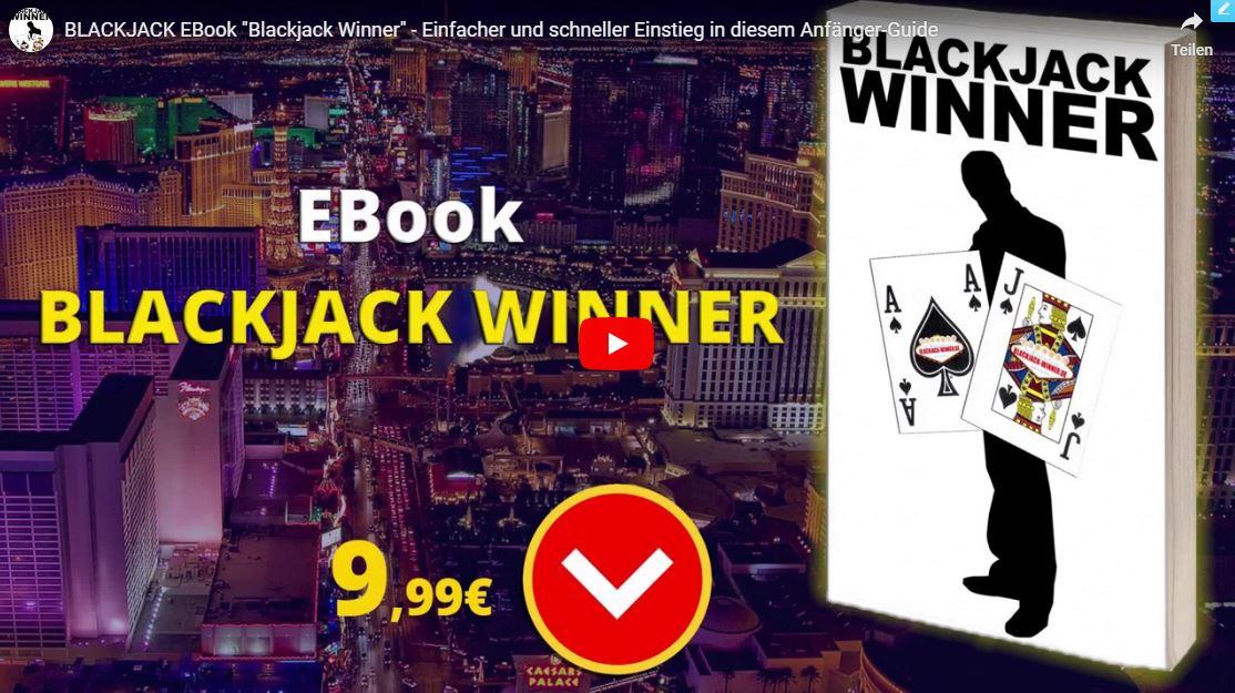 """EBook """"Blackjack Winner"""" auf Amazon kaufen"""