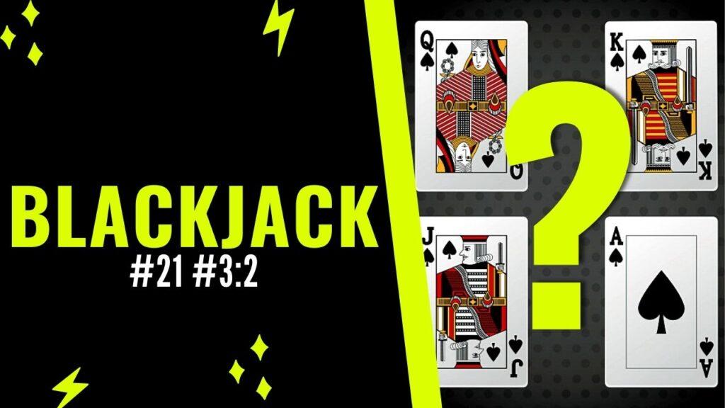 Blackjack 21 - A y 10
