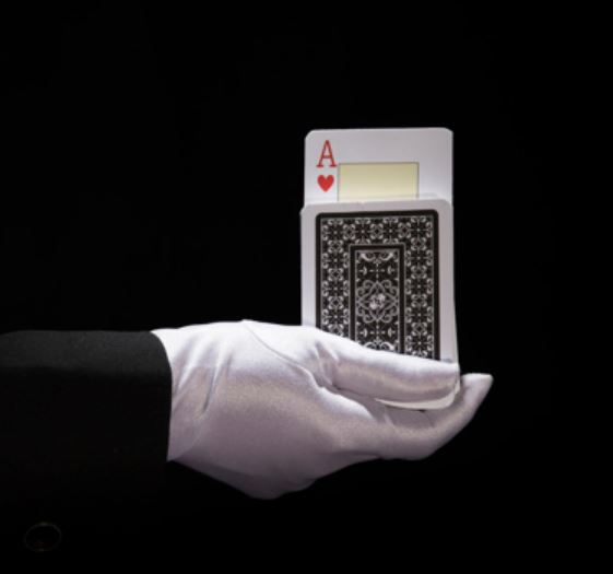 What does the ace count for in blackjack?