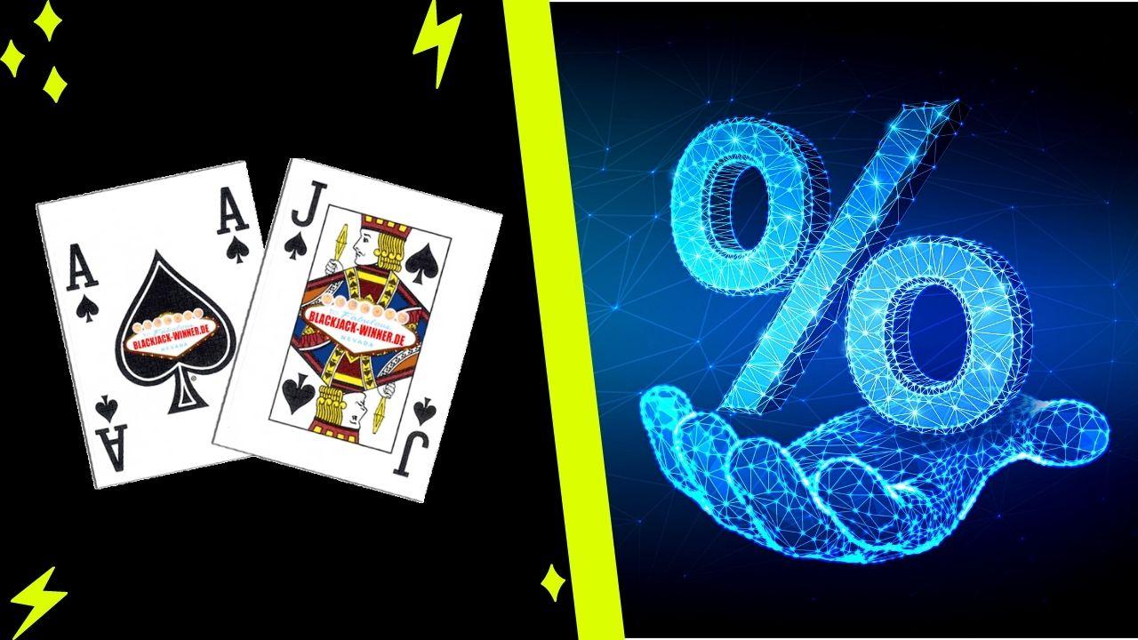 Probabilidad de ganar en el blackjack